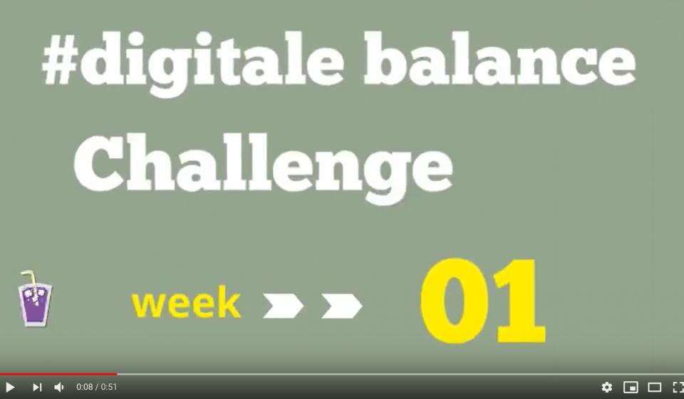 Digitale balans challenge